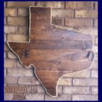 Small picture of wooden Texas by woodbotter.com