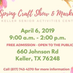 2019 Spring Craft Show and Market