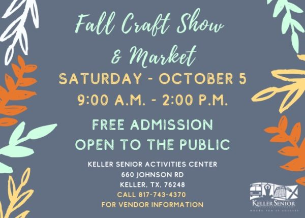 Keller Senior Fall Craft Show and Market